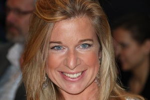 LONDON - JULY 05: The apprentice winner Katie Hopkins poses for a picture at the Hairspray Premiere at the Odeon Cinema Leicester Square on July 05, 2007 in London, England. (Photo by MJ Kim/Getty Images) *** Local Caption *** Katie Hopkins